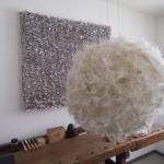 Anni Rieck_Werkbank mit Kunst